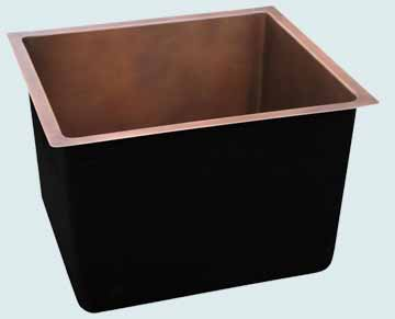 Custom Copper Bar Sinks #3666 | Handcrafted Metal Inc