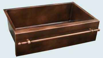Custom Copper Kitchen Sinks #3647 | Handcrafted Metal Inc