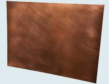 Backsplashes - Copper Backsplashes- Wall & Door Panels Copper Backsplashes - Smooth Copper # 4014