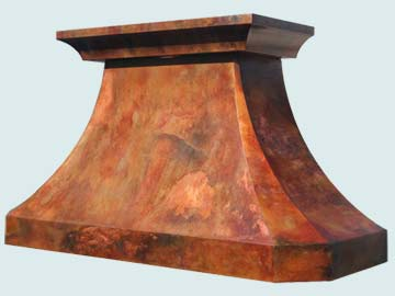 Custom Copper Range Hoods French Country 3224