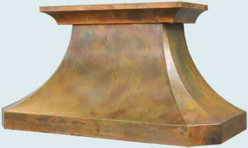 Custom Copper Range Hoods French Country 3233
