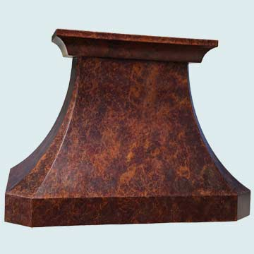 Custom Copper Range Hoods French Country 4225