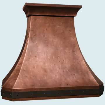 Custom Copper Range Hoods French Country 4962