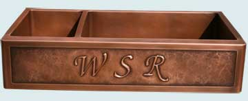 Custom Copper Kitchen Sinks #2825 | Handcrafted Metal Inc