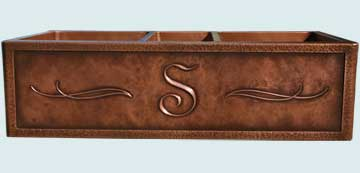 Custom Copper Kitchen Sinks #2843 | Handcrafted Metal Inc