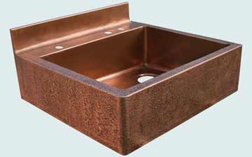 Custom Copper Kitchen Sinks #3401 | Handcrafted Metal Inc