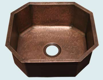 Custom Copper Bar Sinks #3636 | Handcrafted Metal Inc
