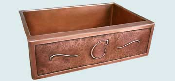 Custom Copper Kitchen Sinks #4431 | Handcrafted Metal Inc