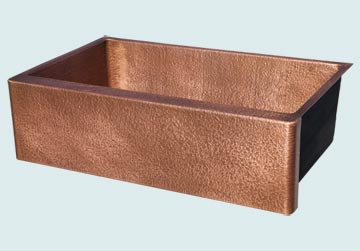 Custom Copper Kitchen Sinks #4847 | Handcrafted Metal Inc
