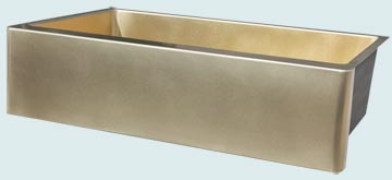 Custom Bronze Kitchen Sinks #4863 | Handcrafted Metal Inc