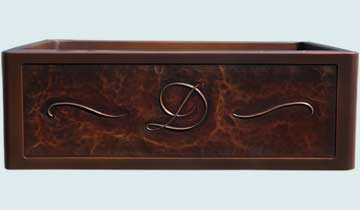 Custom Copper Kitchen Sinks #5126 | Handcrafted Metal Inc