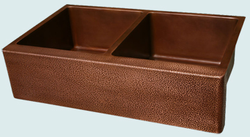 Kitchen Sinks - Copper Kitchen Sinks- In-Stock Sinks Copper Kitchen Sinks - Sheila's Cottage # 3067