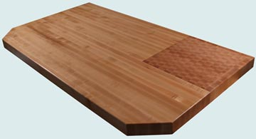 Wood Countertops - Hard Maple Wood Countertops- Edge Grain Hard Maple wood Countertops - Hard Maple # 4132