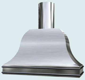 Custom Stainless Range Hood #2431 | Handcrafted Metal Inc