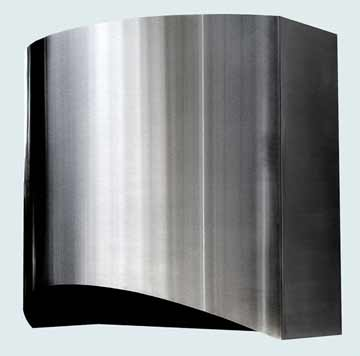 Custom Stainless Range Hood #2429 | Handcrafted Metal Inc