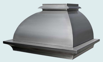 Custom Stainless Range Hood #2603 | Handcrafted Metal Inc