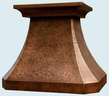 Custom Copper Range Hoods French Country 2506