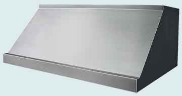 Custom Stainless Range Hoods Slope Front 2427