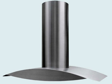 Custom Stainless Range Hood #2498 | Handcrafted Metal Inc