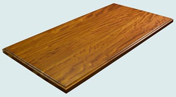 Wood Countertops - Iroko Wood Countertops- Face Grain Iroko wood Countertops - Iroko # 4083