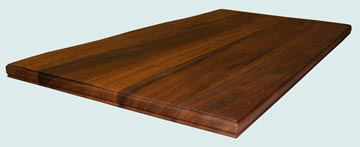 Wood Countertops - Iroko Wood Countertops- Face Grain Iroko wood Countertops - Iroko # 4084