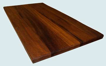 Wood Countertops - Iroko Wood Countertops- Face Grain Iroko wood Countertops - Iroko # 4085