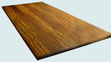 Wood Countertops - Iroko Wood Countertops- Face Grain Iroko wood Countertops - Iroko # 4133