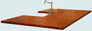 Wood Countertops - Mesquite8 Wood Countertops- Edge Grain Mesquite8 wood Countertops - Mesquite # 4116