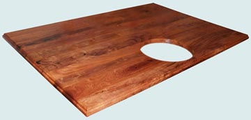 Wood Countertops - Mesquite8 Wood Countertops- Face Grain Mesquite8 wood Countertops - Mesquite # 4123