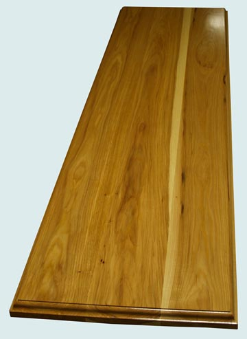 Wood Countertops - Pecan Wood Countertops- Face Grain Pecan wood Countertops - Face grain Pecan # 4094