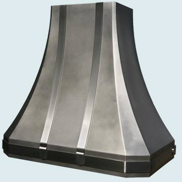 Custom Stainless Range Hoods French Sweep 3983