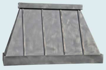 Custom Pewter Range Hoods Pyramid 5025