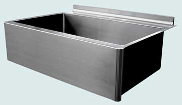 Custom Stainless Kitchen Sinks #3711 | Handcrafted Metal Inc