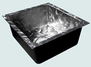 Custom Stainless Bar Sinks #3715 | Handcrafted Metal Inc