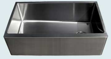 Custom Stainless Kitchen Sinks #3729 | Handcrafted Metal Inc