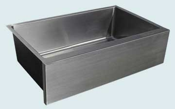 Custom Stainless Kitchen Sinks #3731 | Handcrafted Metal Inc