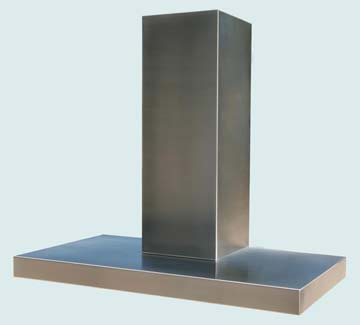 Custom Stainless Range Hoods Ultra Low Profile 2934