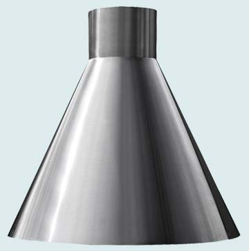 Custom Stainless Range Hoods Conical 3262