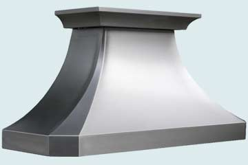 Custom Stainless Range Hoods French Country 3265