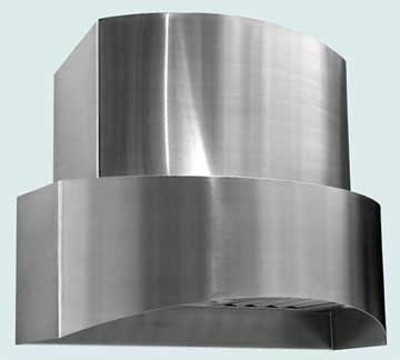 Custom Stainless Range Hood #3266 | Handcrafted Metal Inc