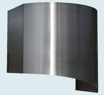 Custom Stainless Range Hood #3269 | Handcrafted Metal Inc