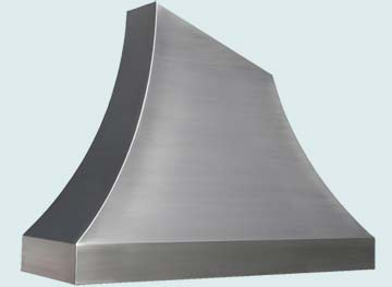Custom Stainless Range Hoods Double Sweep 3271