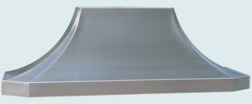 Custom Stainless Range Hoods French Sweep 3278