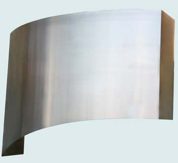 Custom Stainless Range Hood #3851 | Handcrafted Metal Inc