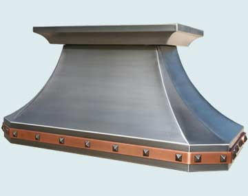 Custom Stainless Range Hood #3969 | Handcrafted Metal Inc