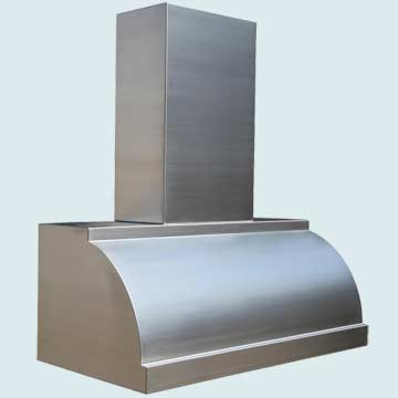Custom Stainless Range Hoods Single Roll 3973