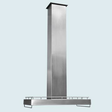 Custom Stainless Range Hoods Ultra Low Profile 4837
