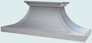 Custom Stainless Range Hood #4854 | Handcrafted Metal Inc