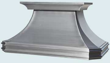 Custom Stainless Range Hoods French Country 5101