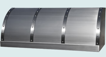 Custom Stainless Range Hoods Single Roll 5121